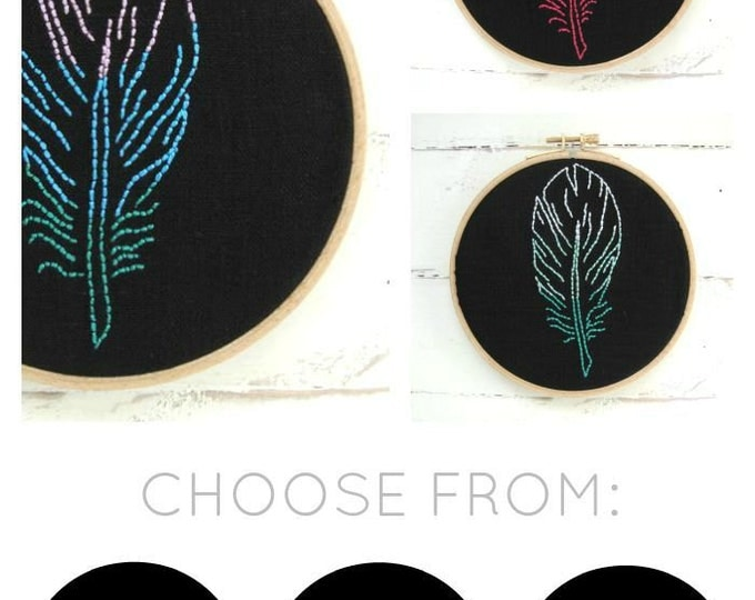 Feather Embroidery Kit {basic}