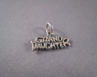 Grand Daughter .925 Sterling Silver Charm