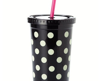 Kate Spade Insulated Tumbler with Straw
