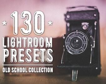 130 Old School Lightroom Presets Bundle - All Retro and Vintage Presets on NUUGraphics - Save Big!