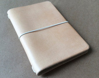 Pocket  Moleskine Leather Notebook Cover