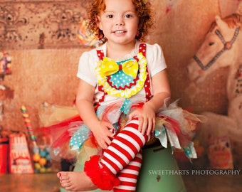Clown Costume , Clown Birthday, Circus costume, Circus Birthday