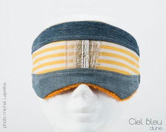 sleep mask, night, chic / modern relaxation    Hand made