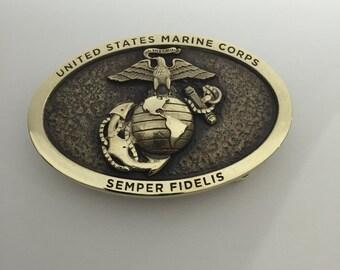 Marine Corps Belt Buckle
