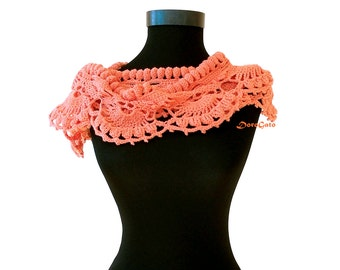 Crochet scarf pattern, crochet lace shawl pattern, Crochet scarf PATTERN, crochet pattern shawl, lace scarf pattern, Instant Download /1004/