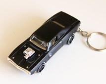Dom's '70 Dodge Charger R/T- Fast and Furious Hot Wheels Die cast on Key Chain