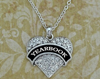 Yearbook Heart Necklace