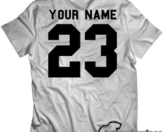 Custom - Your Name Baseball Football Soccer Team Tee T-Shirt Mens Womens Youth KIDS S-5XL