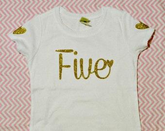 Girls Birthday Shirt