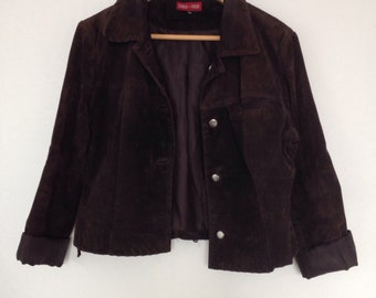 Brown Suede Jacket 10