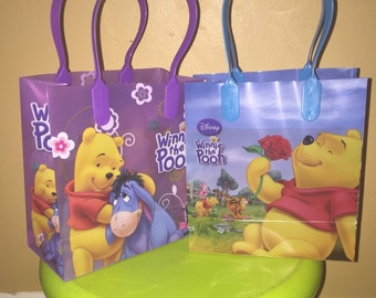 Winnie the pooh Party Favor Bags