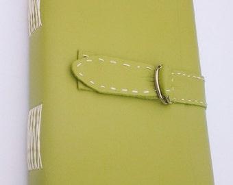 Handbound leather journal / notebook
