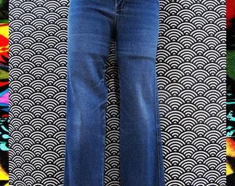 Vintage 80s Lee High waisted Blue Denim Skinny Jeans