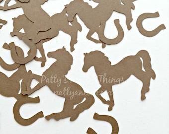 Horse Die Cuts, Horse Confetti