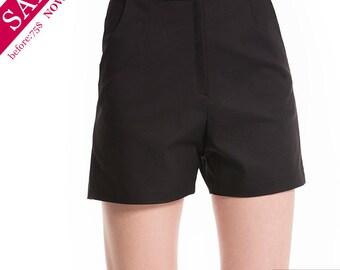 SALE discount 50% Felt-Blend Shorts