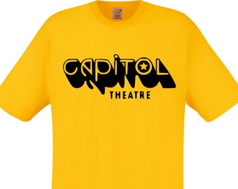 Capitol Theatre T-shirt - As Worn By Joey Ramone, All Sizes/Colours