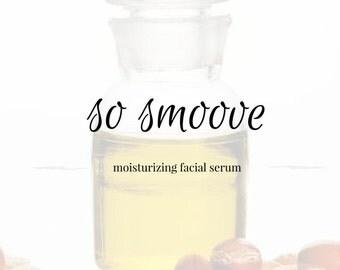 "Moisturizing ""Babyface"" Healing Facial Serum. Argan Oil. Rosehip. Meadowfoam. Carrot Seed. Anti-aging."