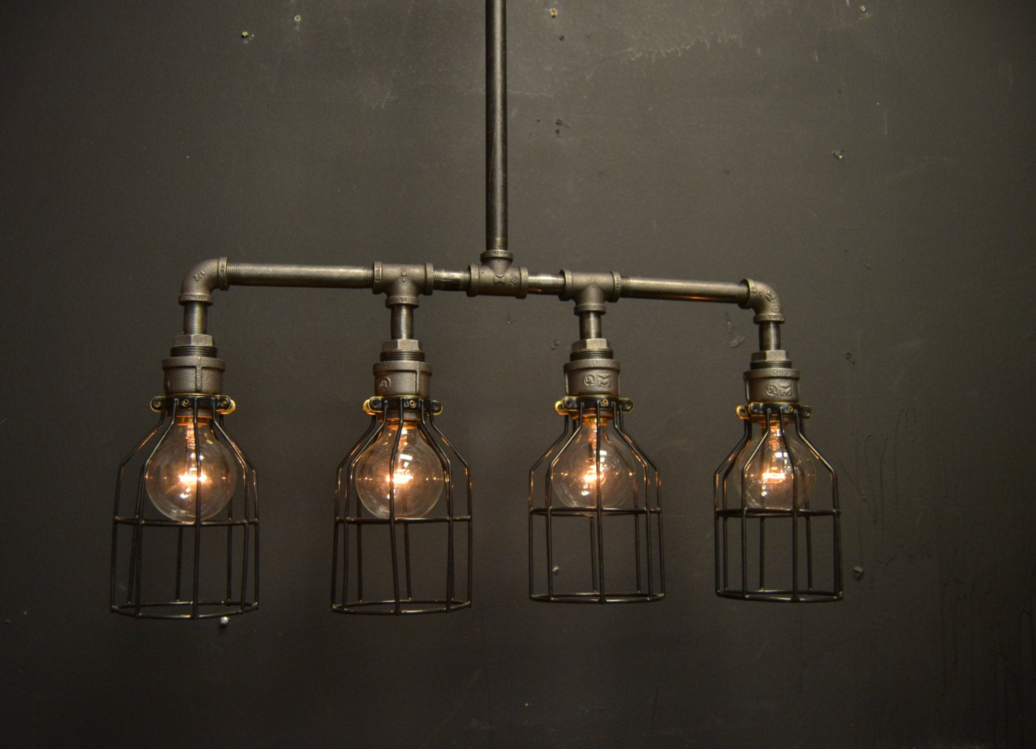 Steampunk Light Kitchen Light Ceiling fixture Chandelier