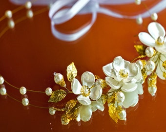 flower crown, wedding crown, bridal crown, floral crown, wedding headband, bridal headband, flower headpiece, flower headband, crown wedding