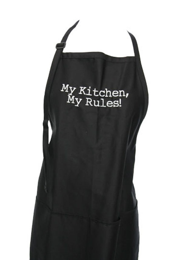 My Kitchen, My Rules! (Adult Apron) Available in Colors too