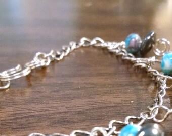 Silver and Steel Bracelet