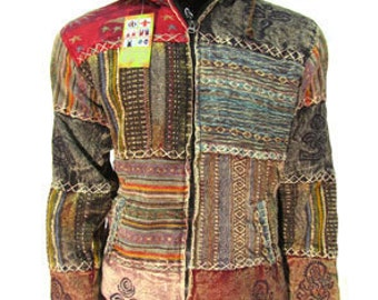 Unique Moroccan Made Style Hoodie Jacket