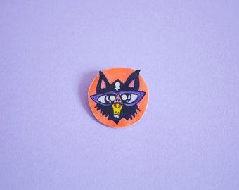 Sale Cool Bat Brooch / Pin
