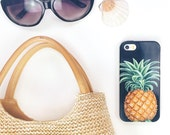 iPhone 6 Case Pineapple iPhone SE Case Tropical iPhone 6S Plus Case Pineapple Print iPhone 5C Case Galaxy S7 Edge