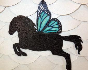 Pegasus Butterfly Horse Nursery Mobile
