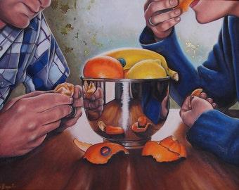 Fruit Bowl Fine Art Print 8x10