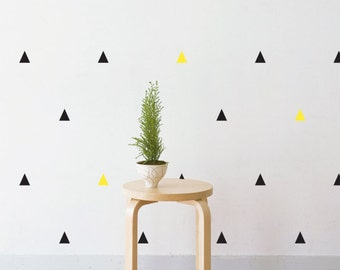 Party Triangles | Removable Wall Decal & Sticker for Home, Office, Nursery | LSB0219VCC