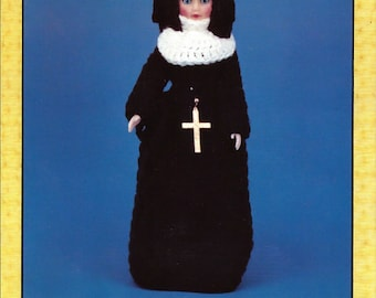 Crochet Sister Mary 15 Inch Doll Pattern TD Creations Cat. no. PRE 749