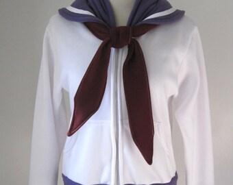 Sailor Saturn Seifuku Uniform Cosplay Costume Hoodie Jacket