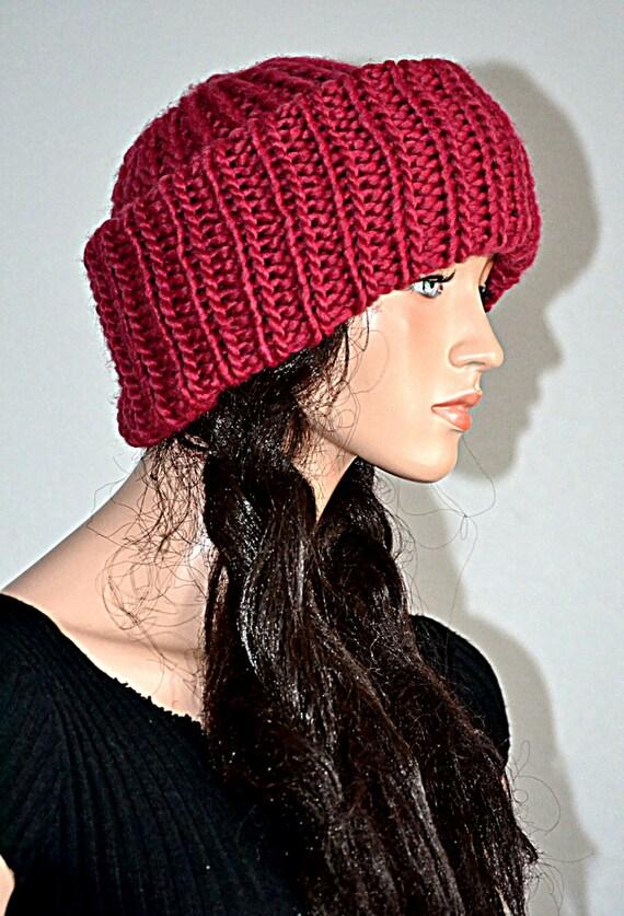 Knitting Pattern For Russian Hat : Russian Ushanka Knitted Hat/ Handmade Ushanka by Africancrab