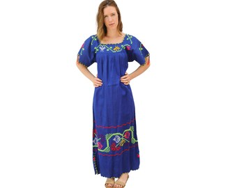 Blue Bell Mexican Dress