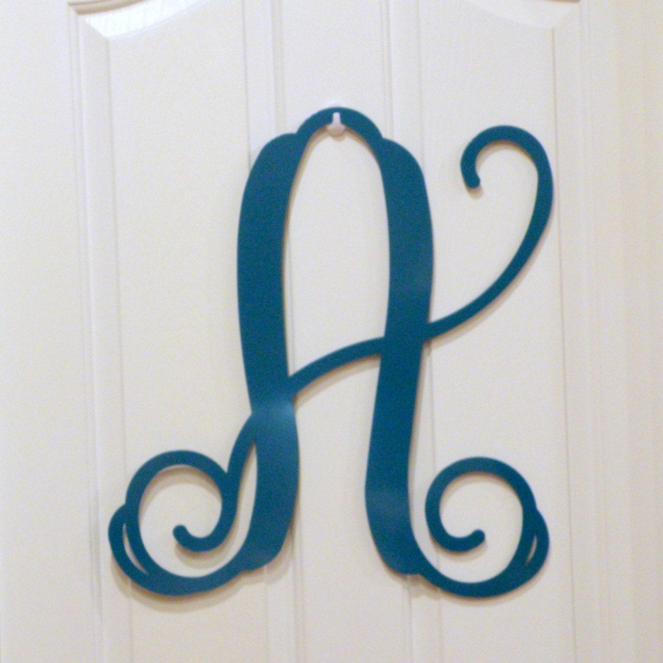 18 initial door hanger letter door hanger monogrammed With letter hanger