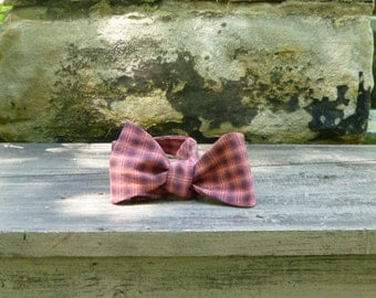 Bow Tie - Free Style Red Plaid