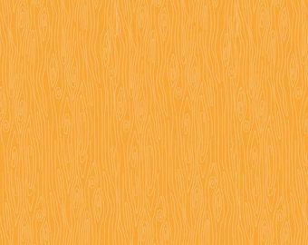 Orange Wood Fabric, Riley Blake Happy Harvest C4035, Doodlebug Designs, Orange Wood Grain Quilt Fabric, Woodland Fabric, Woodgrain Cotton
