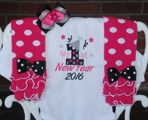 1234f2fbe0828 Baby Girl New Years Outfit! My 1st New Years outfit for baby girls/ Baby