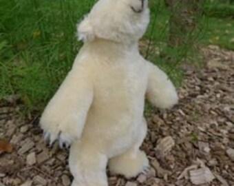 Handmade Stuffed Polar Bear