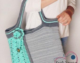 Sea Glass Tote Crochet Pattern