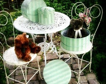 Garden Cottage Romance. Teddy Bear Tea Party. Shabby Chic Childs Room. Digital Download