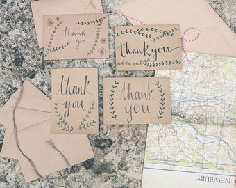 Thank You Card (Branches frame)