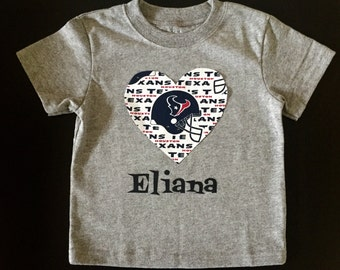 Houston Texans Heart Shirt