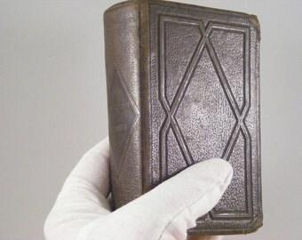 Liturgical book in 1898 XIX century Roman Missal Missal parishioner