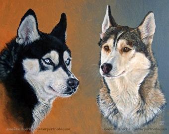 Acrylic Custom Pet Portrait