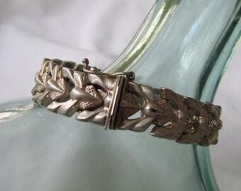 Sterling Silver link Bracelet Italy 925 Milor