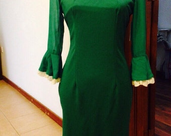Pearl green dress