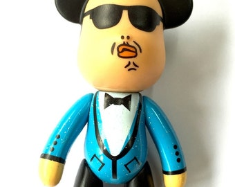 Gangnam Style PSY Teddy Bear  K-Pop Popobe Charm 3in (md)