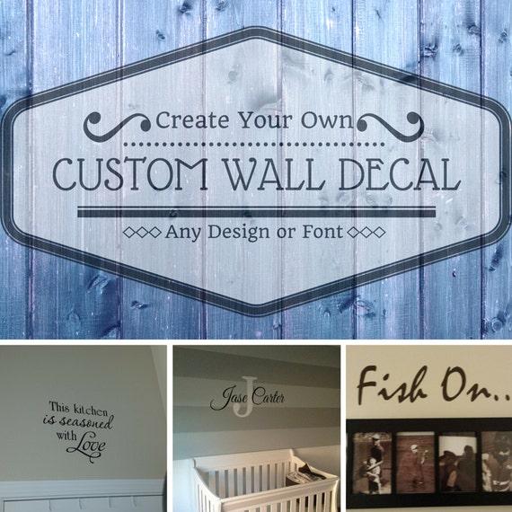 custom wall decal wall art wall mural create your own